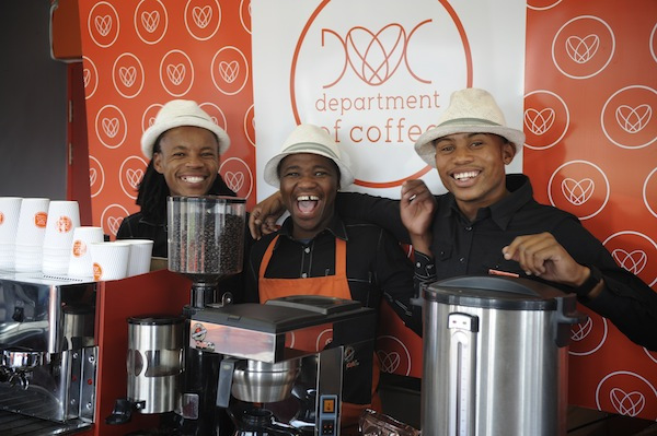 Department of Coffee in Khayelitsha, Cape Town, South Africa. Photo by Anton Crone of Bright Continent.