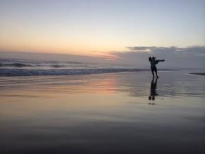 Lovers dancing on Sardinia Bay beach, Port Elizabeth