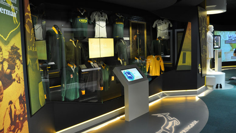 Image result for The Springbok Experience- SA Rugby museum