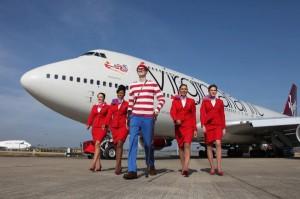 Virgin Atlantic's Where's Wally campaign of 2012.