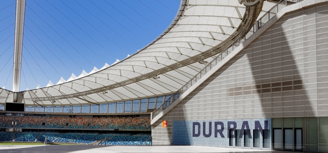 Moses Mabhida Stadium West entrance