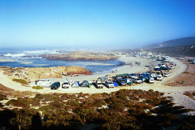 Tietiesbaai in the Cape Columbine Nature Reserve up the West Coast offers the best of South African camping next to the sea.