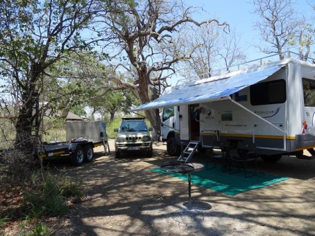 Tsendze Rustic Campsite is a popular camp ground in the Kruger National Park.