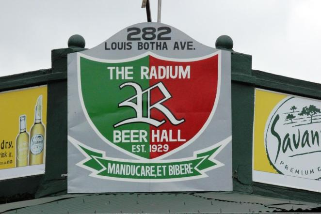 The Radium Beer Hall