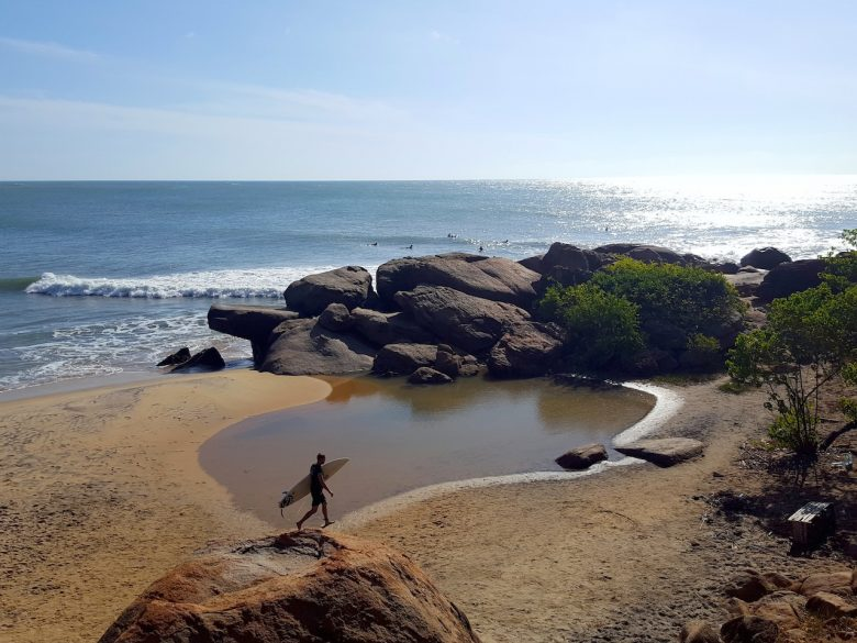Surfing Arugam Bay(1) backpacking Sri Lanka