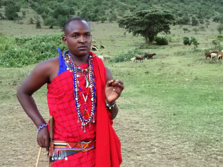 Kenya Maasai Man