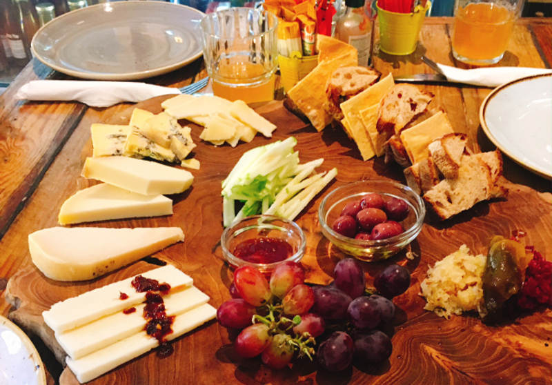 food tours in cape town cheese platter