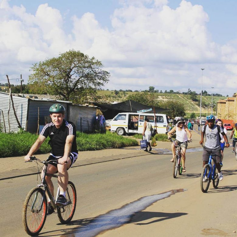 bike tour in soweto