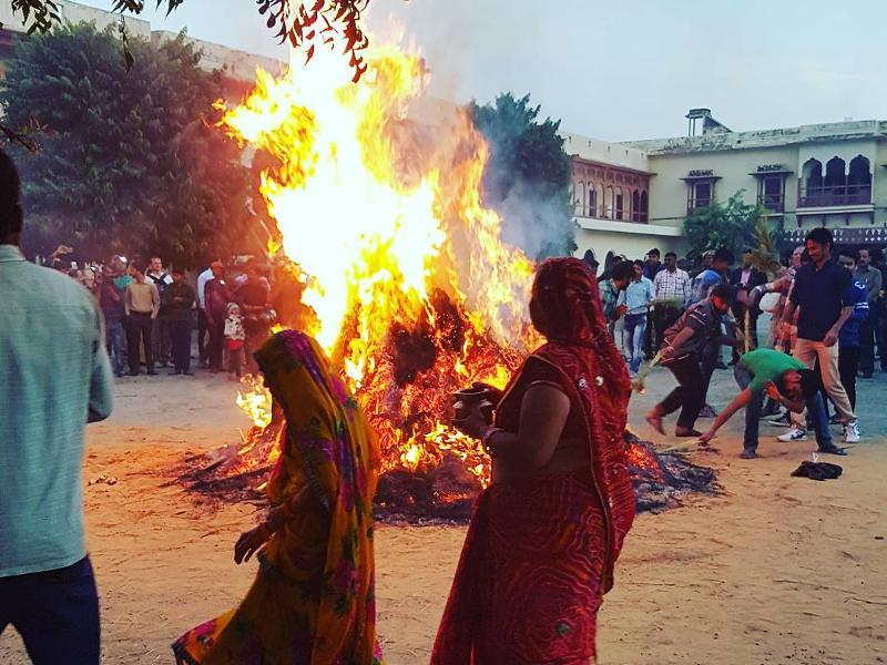 holi-festival-bonfire