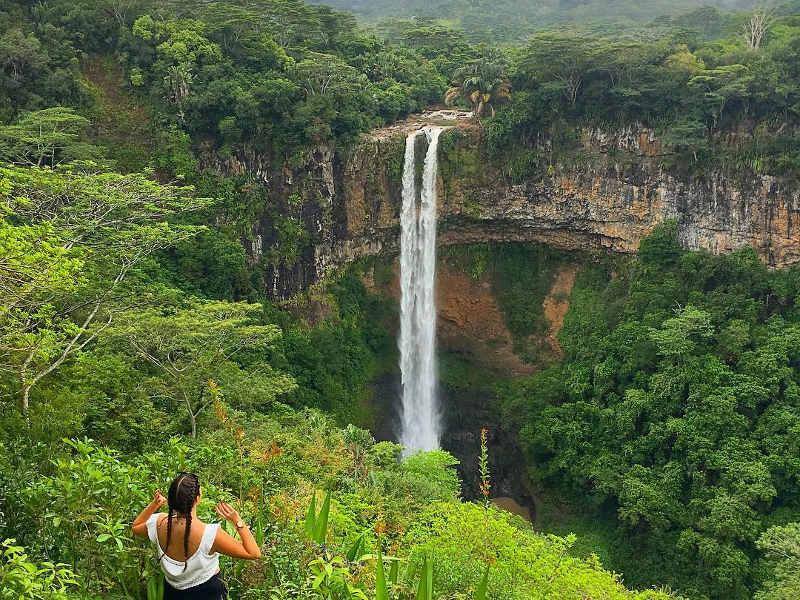 waterfall - mauritius