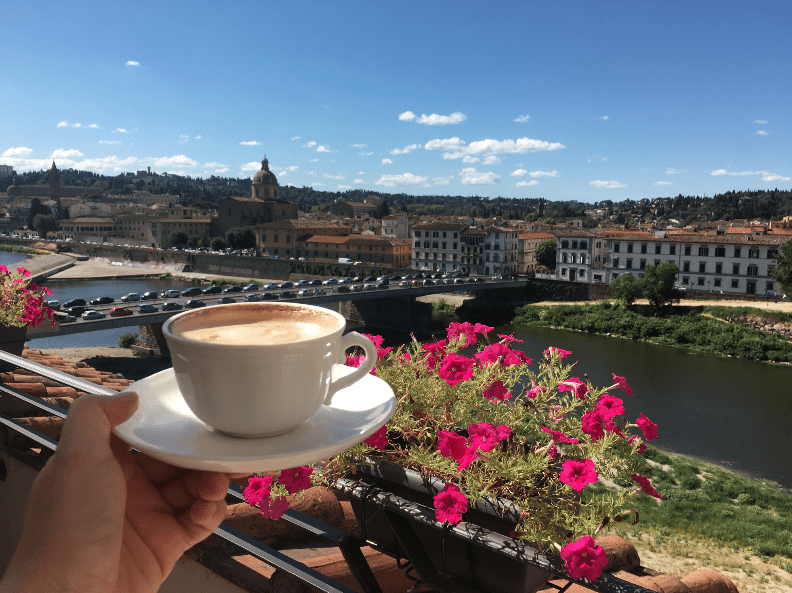 Coffee in Florence Italy