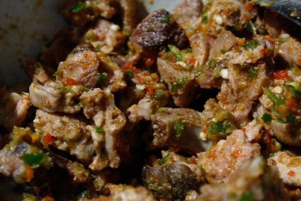 Asun Goat Meat