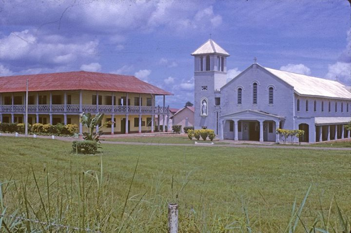 CKC (Christ the king College), Onitsha. Central buildings, 1961