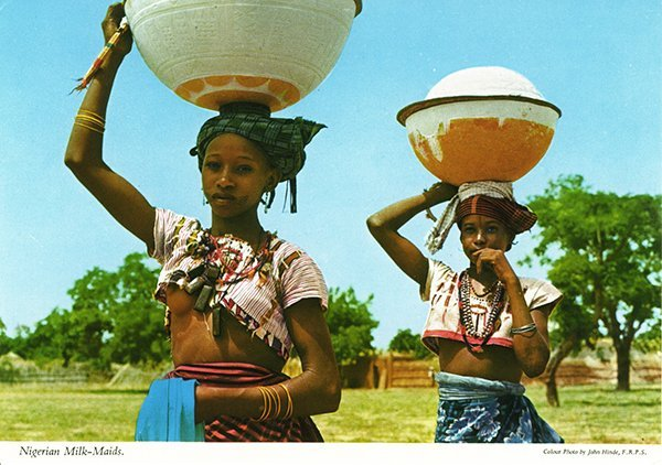 Fulani MilkmaidsJohn Hinde Collection (1960s-1970s)