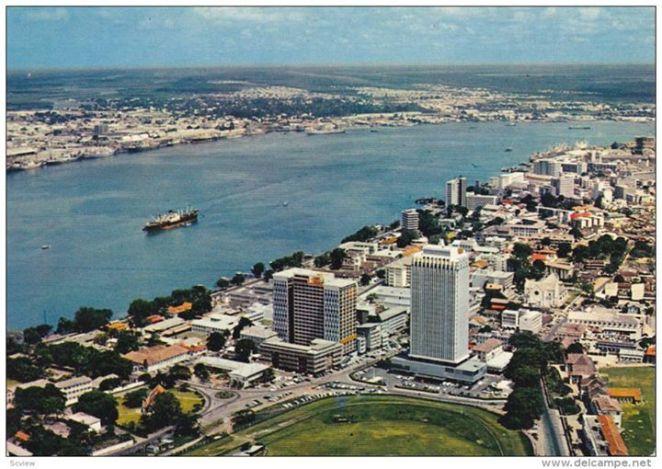 Lagos Harbour in 1974