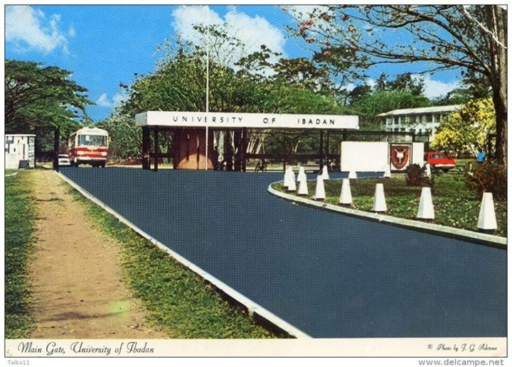 Main Gate, University of Ibadan 1960s