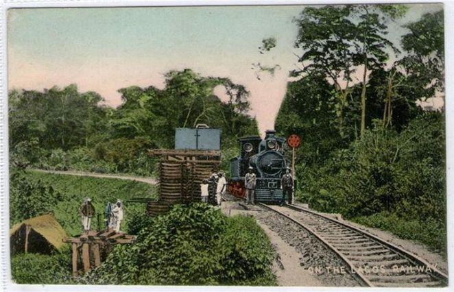 The Lagos Railway 1900s