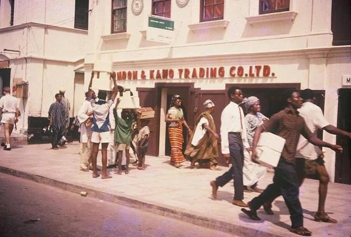 The London and Kano trading company, Lagos