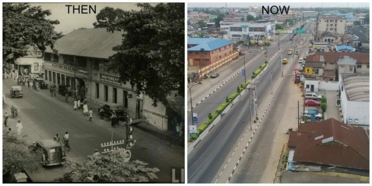 Yaba, Lagos - Then-&-Now