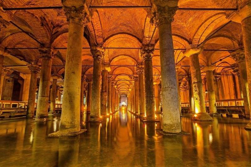 Basilica Cistern Museum
