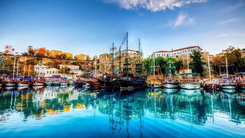 Navigate the Marina Kaleici Antalya