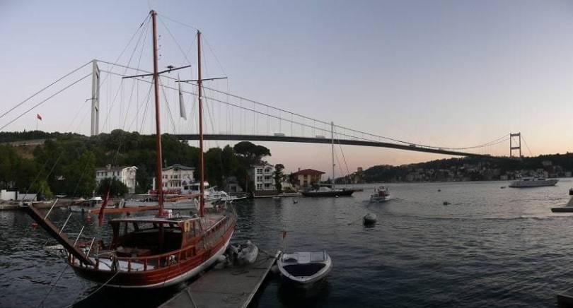 Famous bridges in Turkey