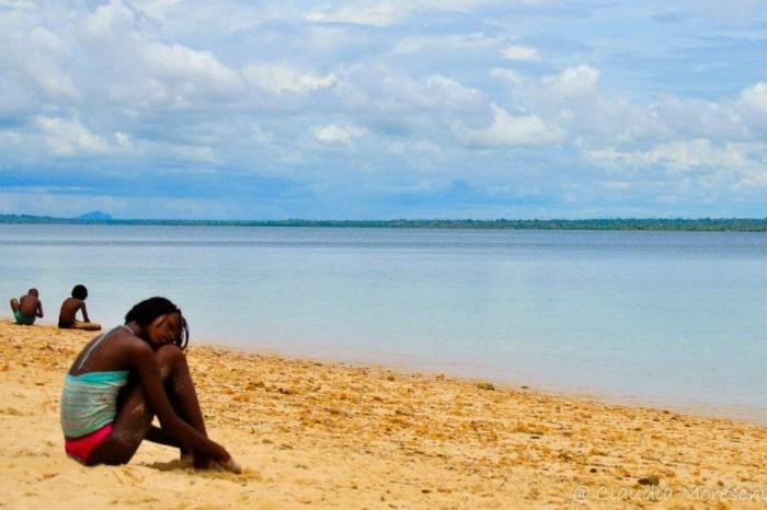 In spiaggia a Ilha de Moçambique