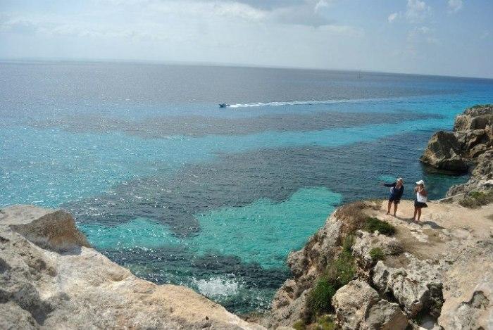 Il bellissimo mare di Favignana