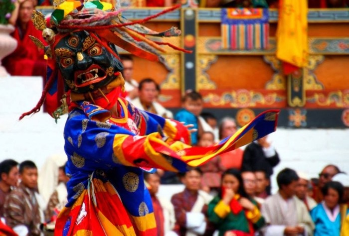 Punakha Tshechu Festival @Photo credit: Bhutan Calling Agency, Bhutan
