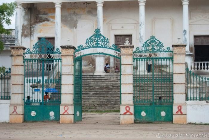 L'ospedale di Ilha de Moçambique