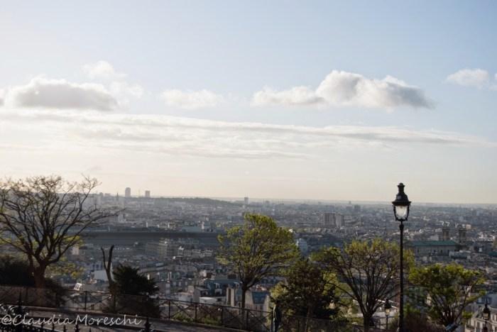 La vista su Parigi dal Sacre Coeur