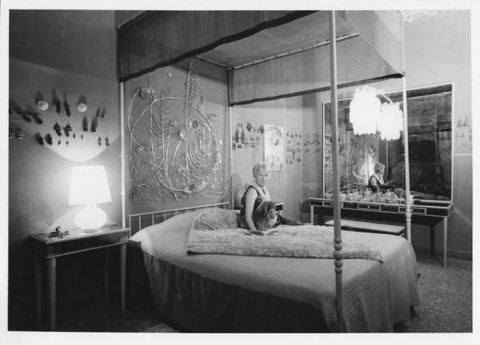 Peggy nella sua camera da letto a Palazzo Venier dei Leoni