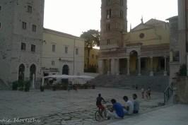 La piazza centrale: il Foro Emiliano
