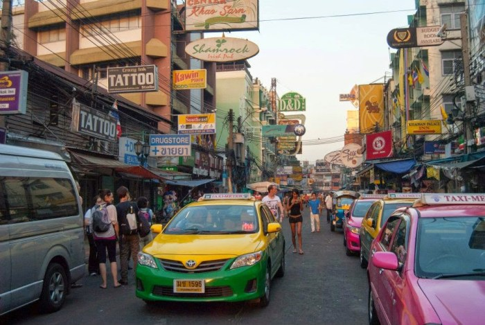 Bangkok mi aspetta!