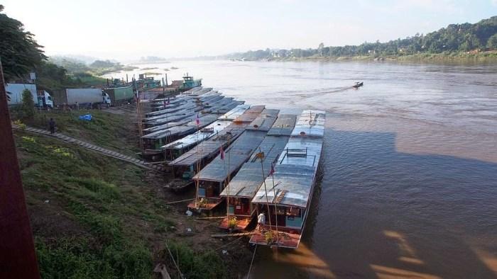 Huay Xai, al confine tra Thailandia e Laos