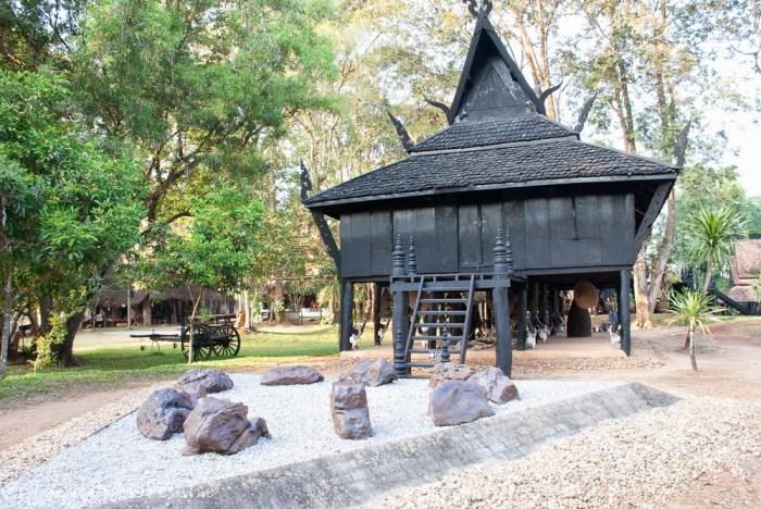 La Black House di Chiang Rai