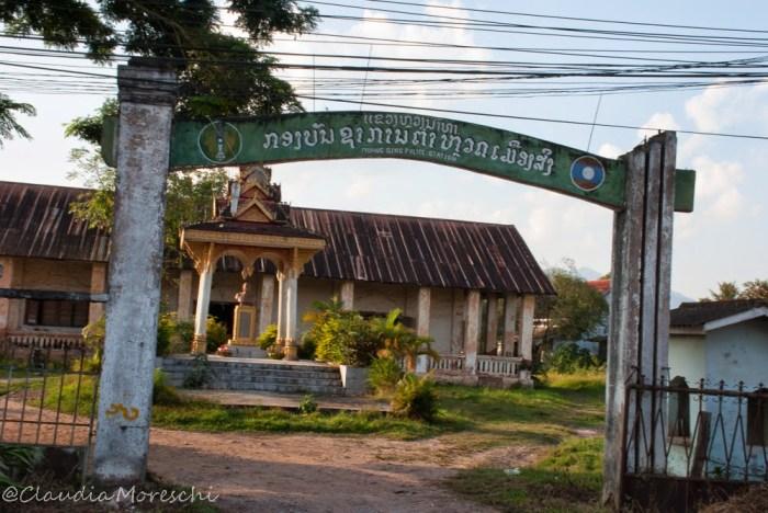La spettrale stazione della polizia di Muang Sing