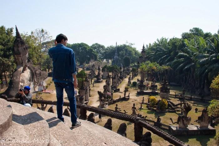 Vista sul Buddha Park