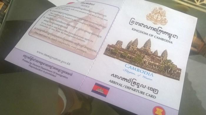 Finalmente in Cambogia!