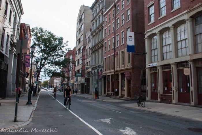 A spasso per le vie di Philadelphia