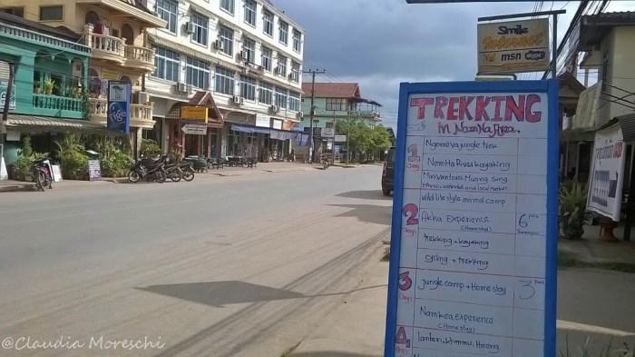 Trekking a Luang Namtha