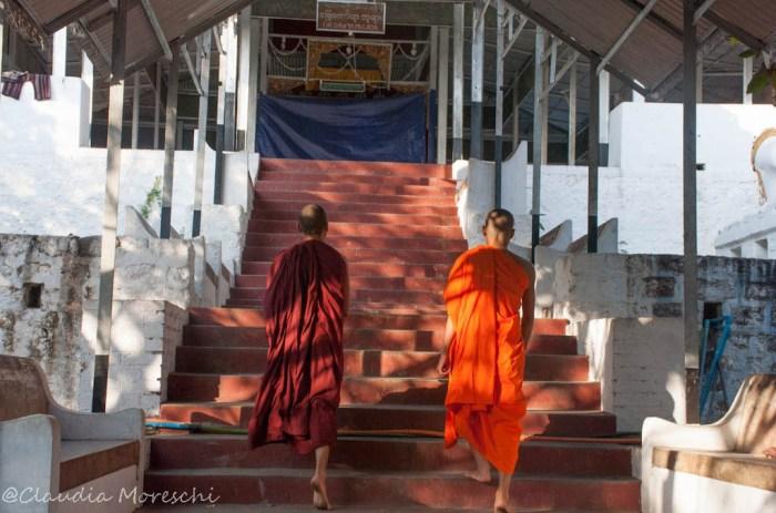 La salita alla Mandalay Hill