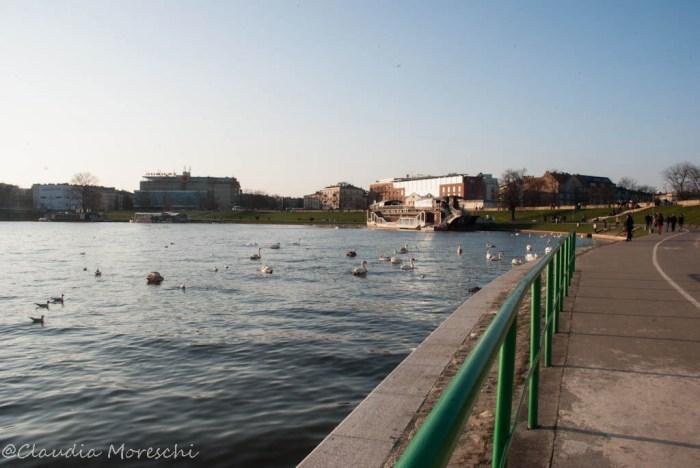 Lungo la Vistola, Cracovia