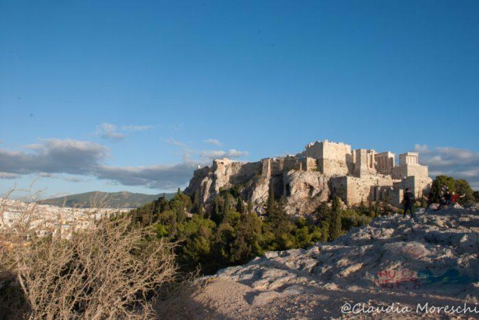 L'Acropoli vista dalla Collina dell'Areopago