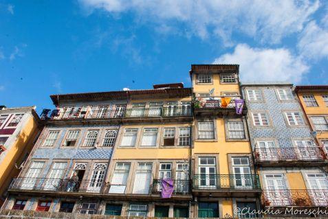 Sul lungofiume di Porto