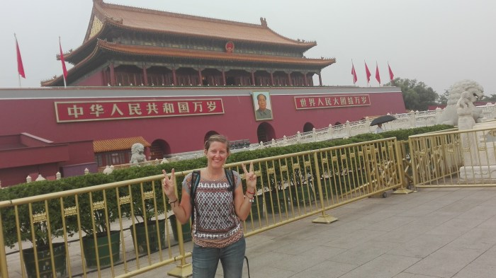 Clamore a Pechino