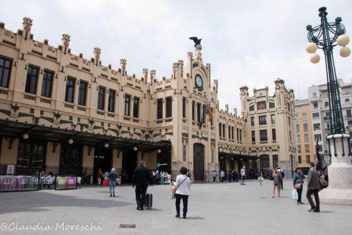 La Estación del Norte nel centro di Valencia