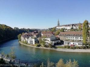 Fiume Aare Berna