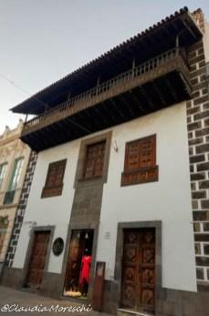 Balconi tradizionali a La Laguna