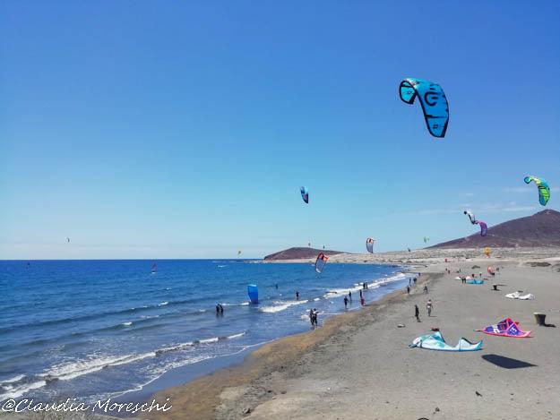 La spiaggia di El Medano